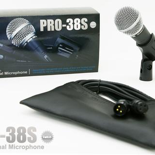 使いやすいダイナミックマイクロフォン SEIDE PRO-38S新品