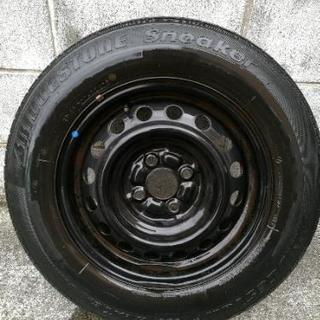 【取引中】タイヤ差し上げます。185/70R14