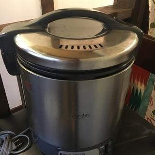 ガス炊飯器1升炊き ジャンク品