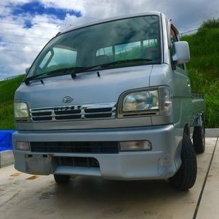 ☆ダイハツハイゼットトラック☆ 希少AT 4WD 車検2年付きす...