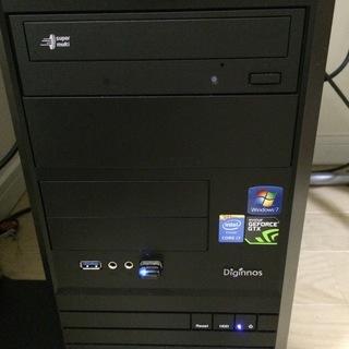 Win7搭載 BTOデスクトップ型パソコン+その他周辺機器