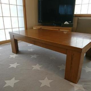 引出し付ローテーブル1000円で売ります!