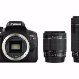 【新品】 Canon  EOS  Kiss  X8i  ダブルズ...