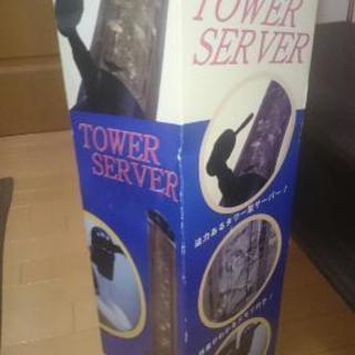 パーティーやバーベキューに電源不要タワーサーバー