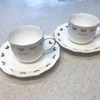 HANAE MORI ペアコーヒーカップ