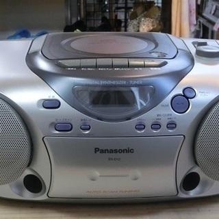 Panasonic CDラジカセ RX-D12 2003年製 中古品