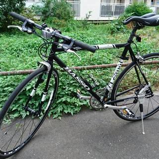 クロスバイク BASSO LESMO BLACK 540mm