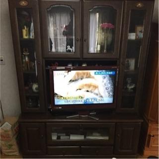 大型TVボード  ダークブラウン系