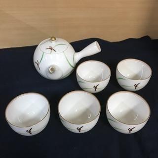 香蘭社 グリーン金蘭 茶器 ティーセット