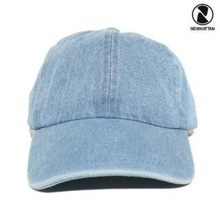 NEWHATTAN STRAP BACK CAP【DENIM L....