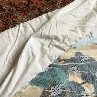 かけ布団 綿ワタと綿の布団カバー シングル