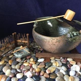◆水鉢◆石5㎏◆オブジェ◆