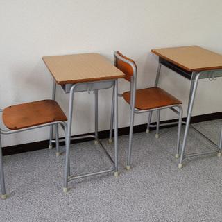 (塾)【好評】 学習机+椅子セット (数量あり)