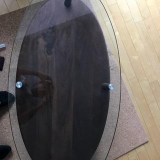 楕円形ガラステーブル 買取希望者募集!