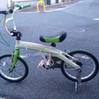 ちょっとオシャレな子供用自転車14インチ?