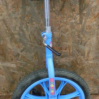 札幌 引き取り 一輪車 水色 子供用 中古品