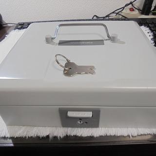 シャチハタ 印箱 鍵2本付き