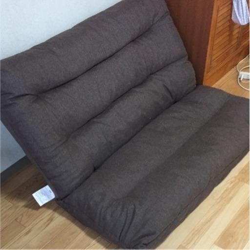 ニトリ ローソファ 座椅子 (しょ) 吉田のソファ《2人掛けソファ