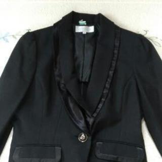 黒のラメ入 ジャケット