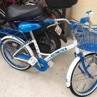子供用自転車 かなり新品に近い