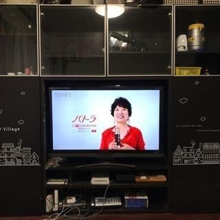 大型テレビボード収納