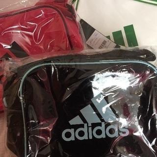 新品未開封adidas エナメルショルダーバッグ