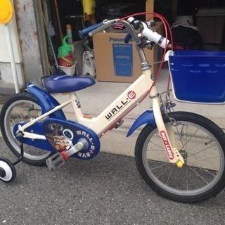 14インチキャラクター自転車
