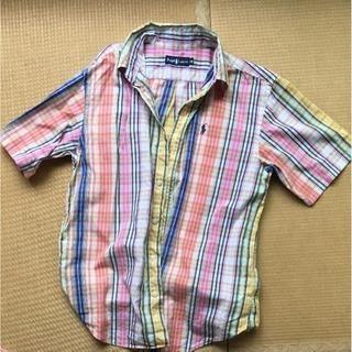 ラルフローレンマドラスチェックシャツ