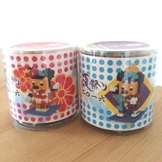 【新品・未開封】ディズニー ミッキー & ミニー ナノブロック ...