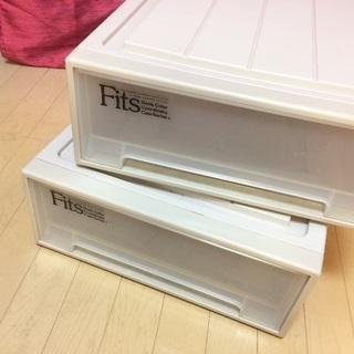 ☆人気衣類収納ケース 7,500円相当・Fits フィッツケース(...