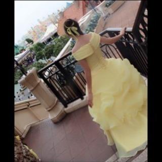 美女と野獣 ドレス ベル コスプレ カラードレス