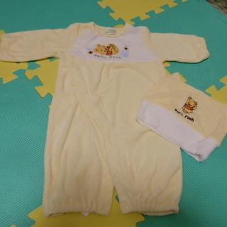 Disney Baby Pooh プーさん赤ちゃん洋服3点セット