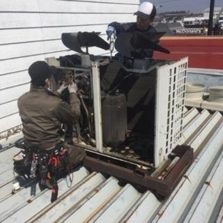 エアコンの修理 工事 メンテナンス