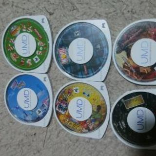 🎄9-6-PSPソフトのみ6本まとめ売り1200円➡800円