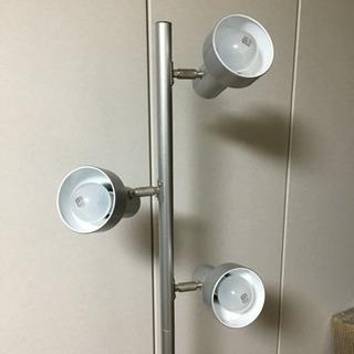 【美品】フロアスタンドライト 3灯 約162センチ