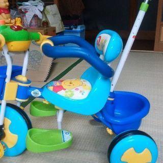 プーさんの三輪車(値下げ)