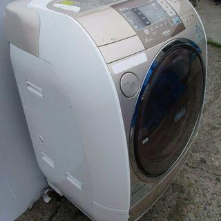 日立大型ドラム式洗濯機です!🌠 10キロです!💫 奥行きが狭いの...