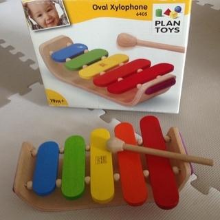 木製オーバルシロフォン PLANTOYS