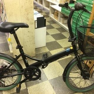 [4735]折りたたみ自転車 20インチ 外装6段変速 オートライ...