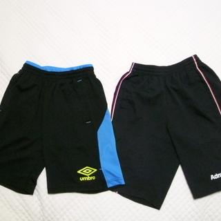 サッカー練習着パンツ2枚