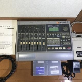 中古 Roland:マルチトラックレコーダー:VS-880:VS8...
