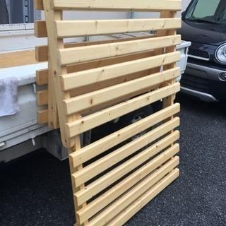木製ソファベッド フレーム