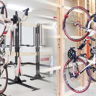自転車通勤に最適、駐輪スペースございます。