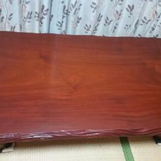 果林1枚板? 座卓、ローテーブル 美品