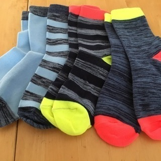 靴下4足セット17〜20cm