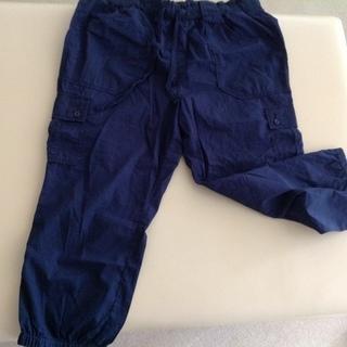 涼しげ薄手の7分丈パンツ XL 75-81センチ  綿100