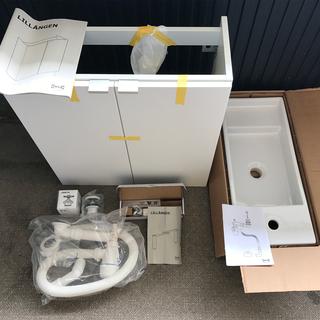 新品洗面台 IKEA 水栓無し リルオンゲン