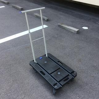 プラスチック製キャスター運搬台車 コンパクト