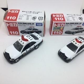 ☆絶版☆ トミカ トヨタクラウンパトロールカー 2台