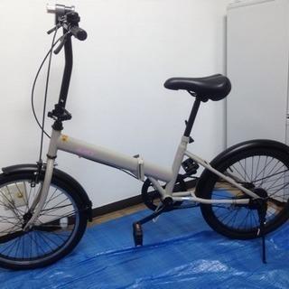 【美品】サイモト 折りたたみ自転車